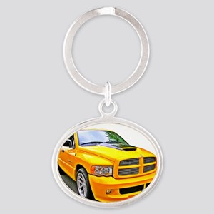 Bee-Sting Rumblebee Oval Keychain